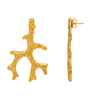 Aquata Earrings - 24k Gold - Angelina Alvarez