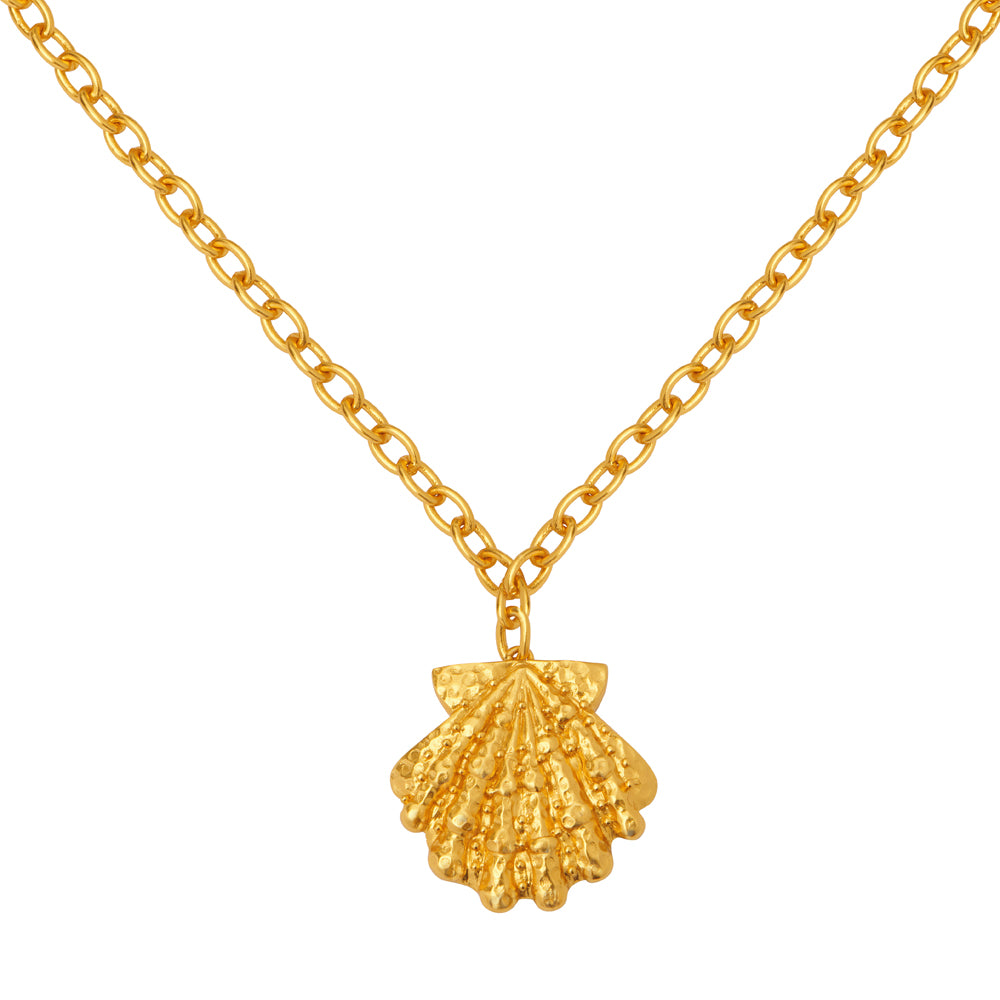 Aquatic Necklace - 24k Gold - Angelina Alvarez