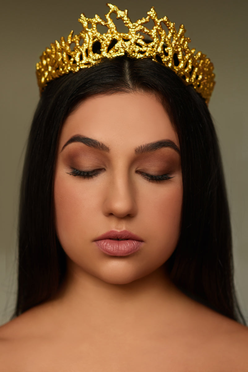 Ariel Crown - 24k Gold - Angelina Alvarez
