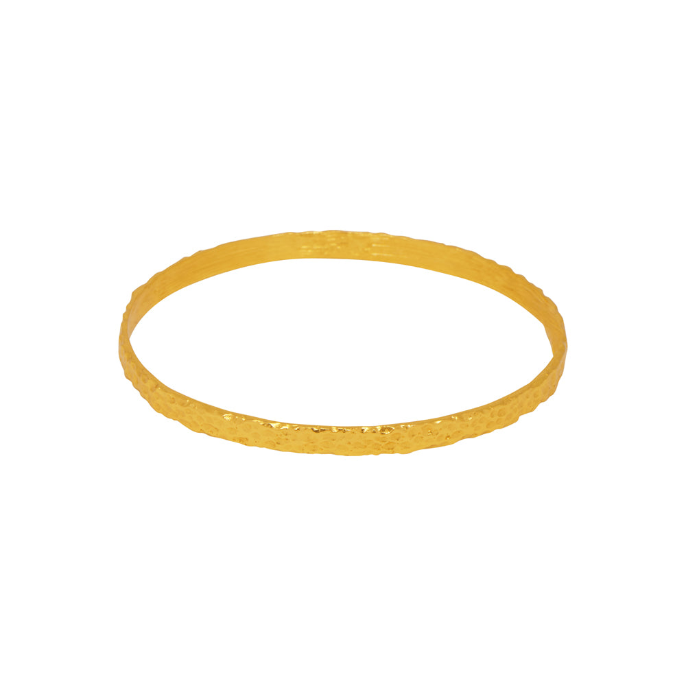 Attina Bangle - 24k Gold - Angelina Alvarez