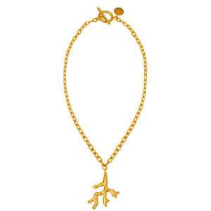Triton Necklace - 24k Gold - Angelina Alvarez