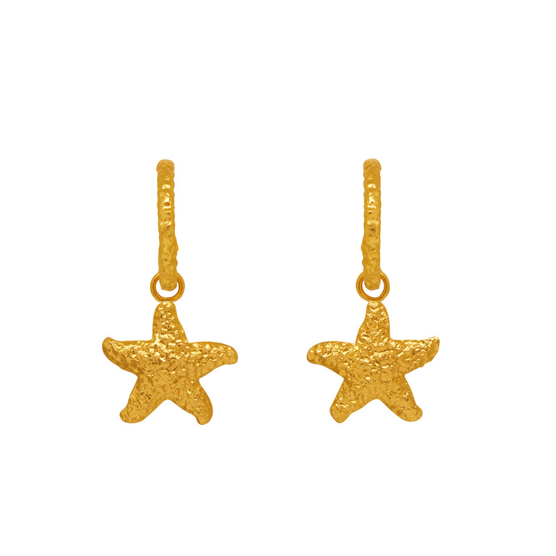 Vivien Earrings - 24k Gold - Angelina Alvarez