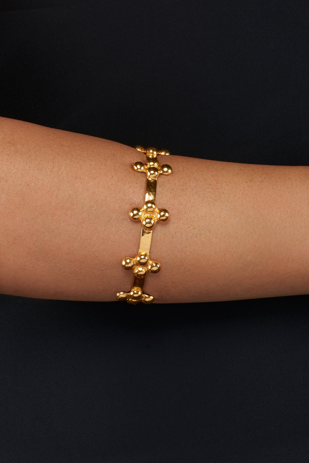 Alexa Bangle - 24k Gold - Angelina Alvarez
