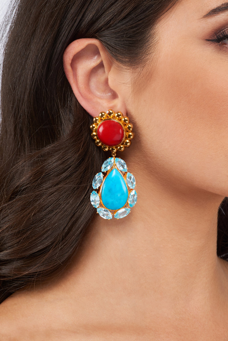 Seville II Earrings - Angelina Alvarez