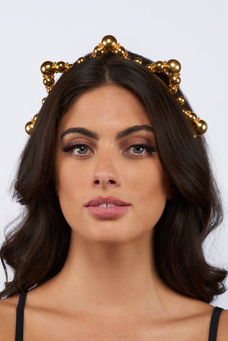 Chiara Crown - 24k Gold - Angelina Alvarez