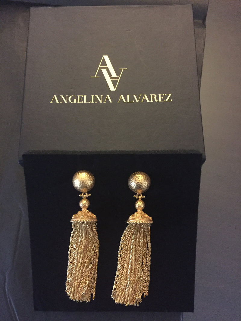 Battina Earrings - Angelina Alvarez