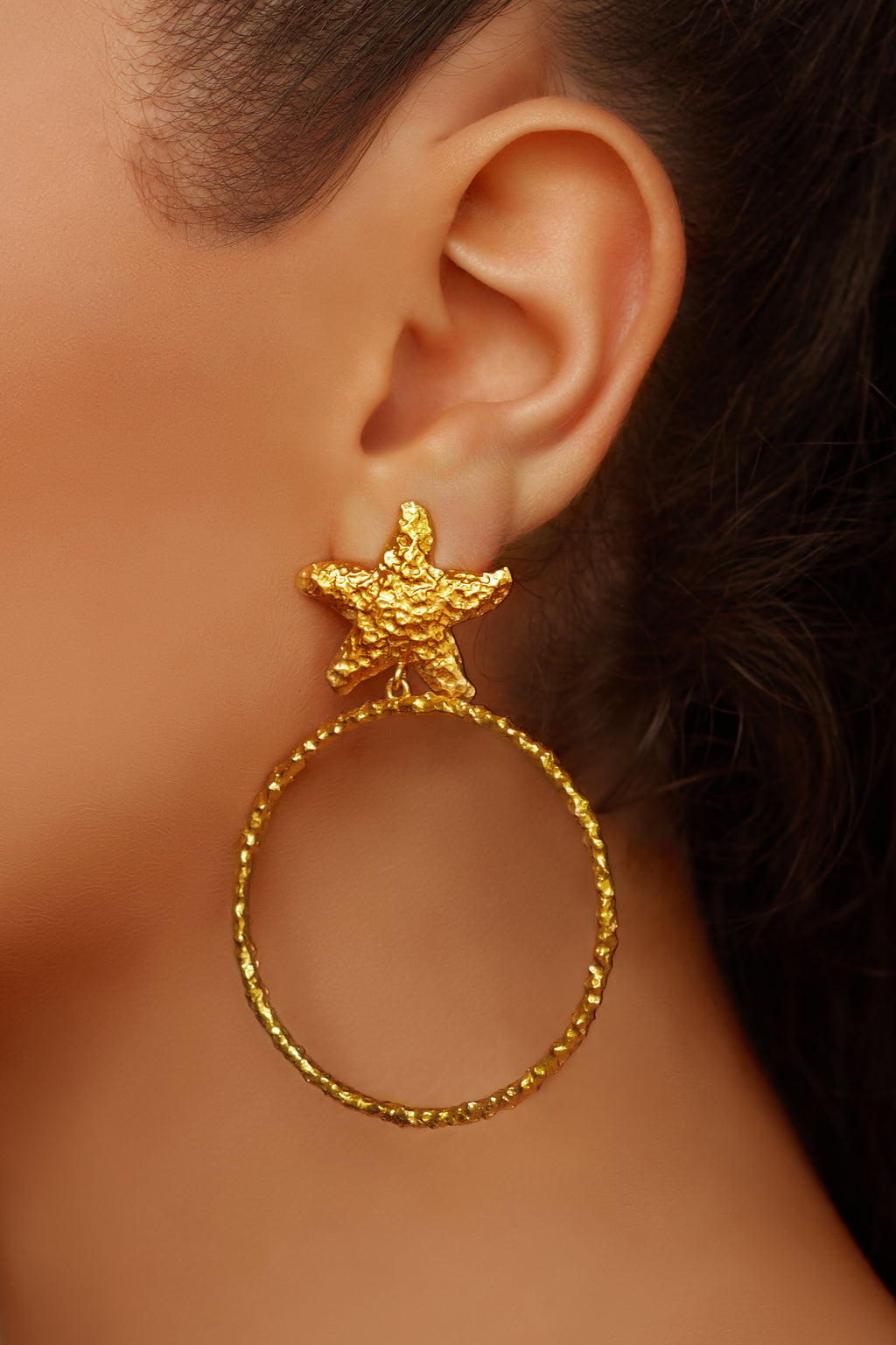Ariana Earrings - 24k Gold