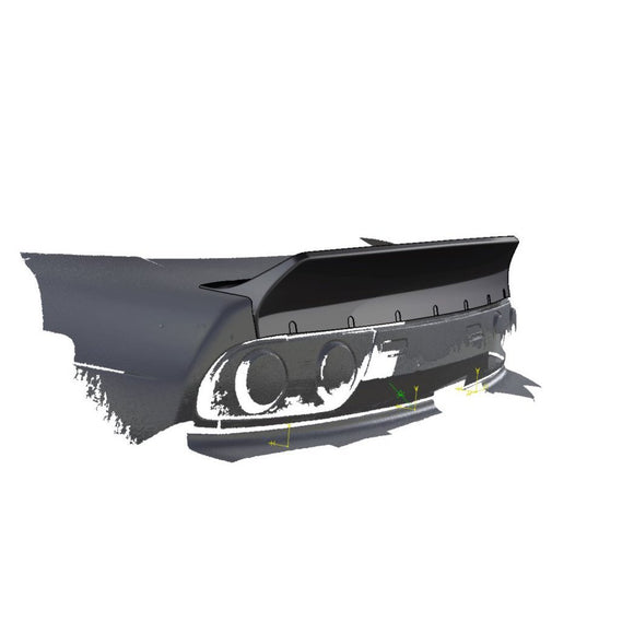 Clinched Nissan 200SX/180SX Ducktail Trunk Spoiler-Automotive Shed