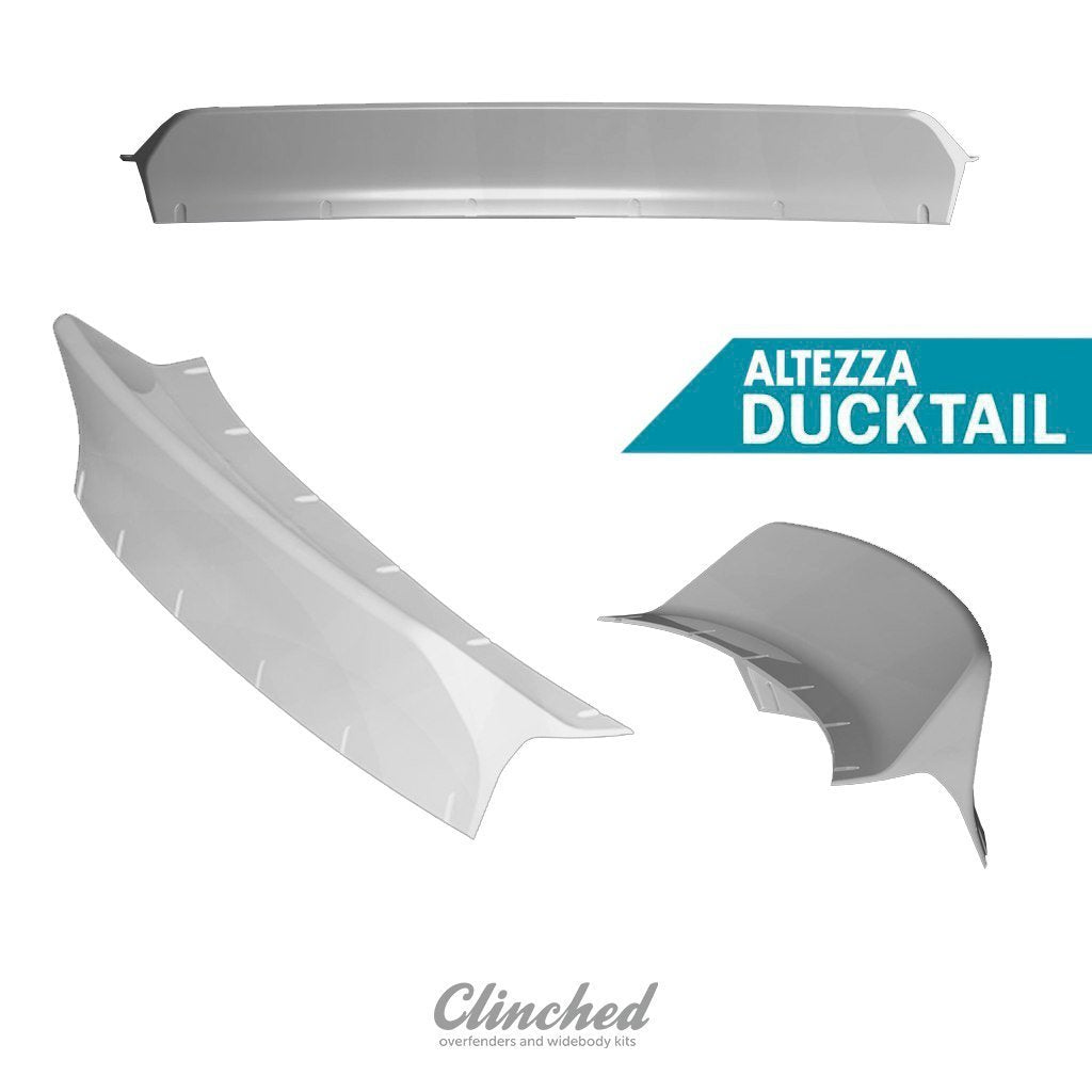 Clinched Toyota Altezza/Lexus IS300 (IS200) #Sxe10 Ducktail Trunk Spoiler-Automotive Shed