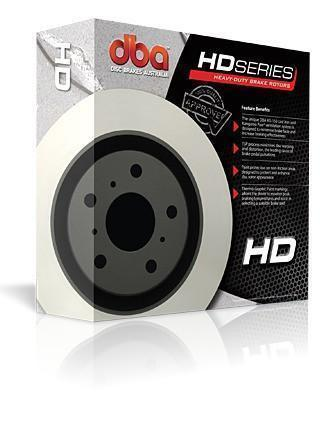 DBA HD DIRECT SERIES FRONT ROTORS (PER PAIR) SUBARU STI BREMBO 01-17/LIBERTY TB STI-Automotive Shed