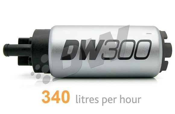 "DEATSCHWERKS ""DW300"" V2 340+ LPH HIGH FLOW IN-TANK FUEL PUMP SUIT MITSUBISHI LANCER EVO 4-9-Automotive Shed"