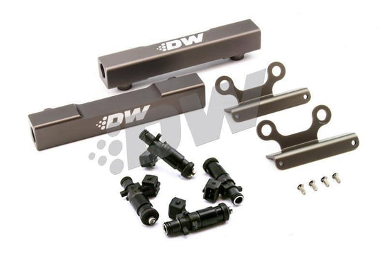 DEATSCHWERKS SUBARU TOP FEED FUEL RAIL UPGRADE KIT W/ 1200CC INJECTORS-Automotive Shed