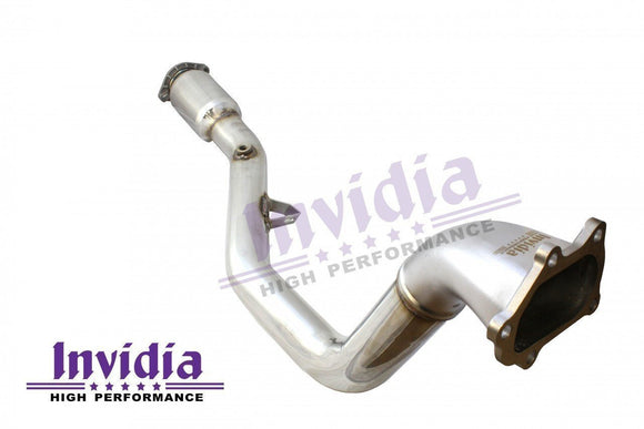 Invidia Exhaust Catted Down Pipe - Subaru AUS SPEC 08-UP WRX/STI-Automotive Shed