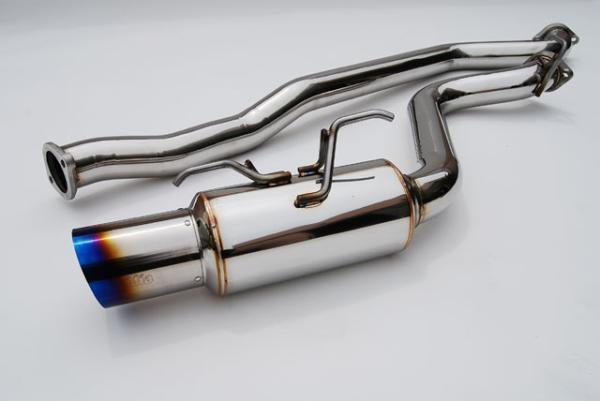 Invidia N1 Cat Back Exhaust - MY08-UP SUBARU WRX/STI HATCH - Titanium Tip-Automotive Shed