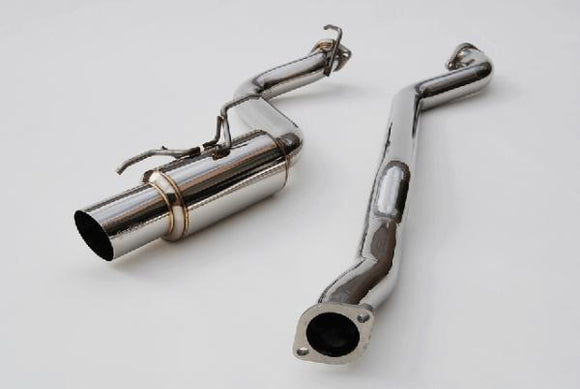 Invidia N1 Cat Back Exhaust - Subaru MY08-UP WRX/STI HATCH - Stainless Steel Tip-Automotive Shed