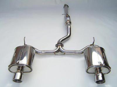 Invidia Q300 Cat Back Exhaust - Honda S2000 - Single Layer - Stainless Steel Tips-Automotive Shed