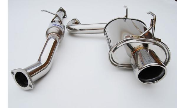 Invidia Q300 Cat Back Exhaust - Honda S2000 - Titanium Tip - Single Layer Single Sided-Automotive Shed