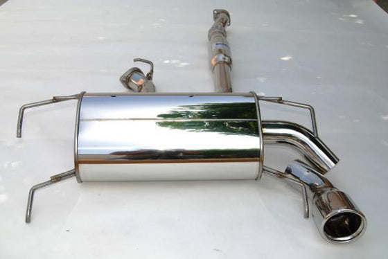 Invidia Q300 Cat Back Exhaust - Subaru MY08-UP WRX HATCHBACK - Stainless Steel Tip-Automotive Shed
