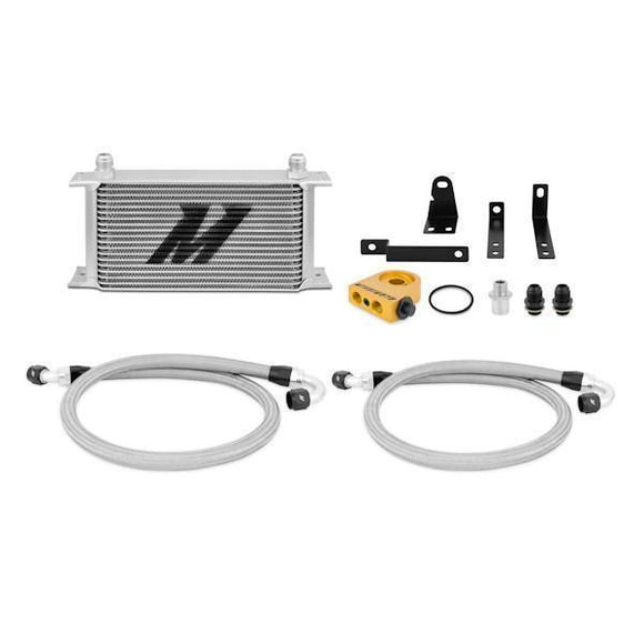 Mishimoto Honda S2000 Thermostatic Oil Cooler Kit Silver-Automotive Shed