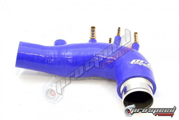PSR SILICON TURBO INLET SUIT 08-14 SUBARU WRX STI GRB BLUE-Automotive Shed