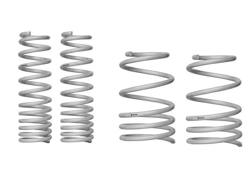 Whiteline F&R Coil Springs - lowered WSK-MIT002-Automotive Shed