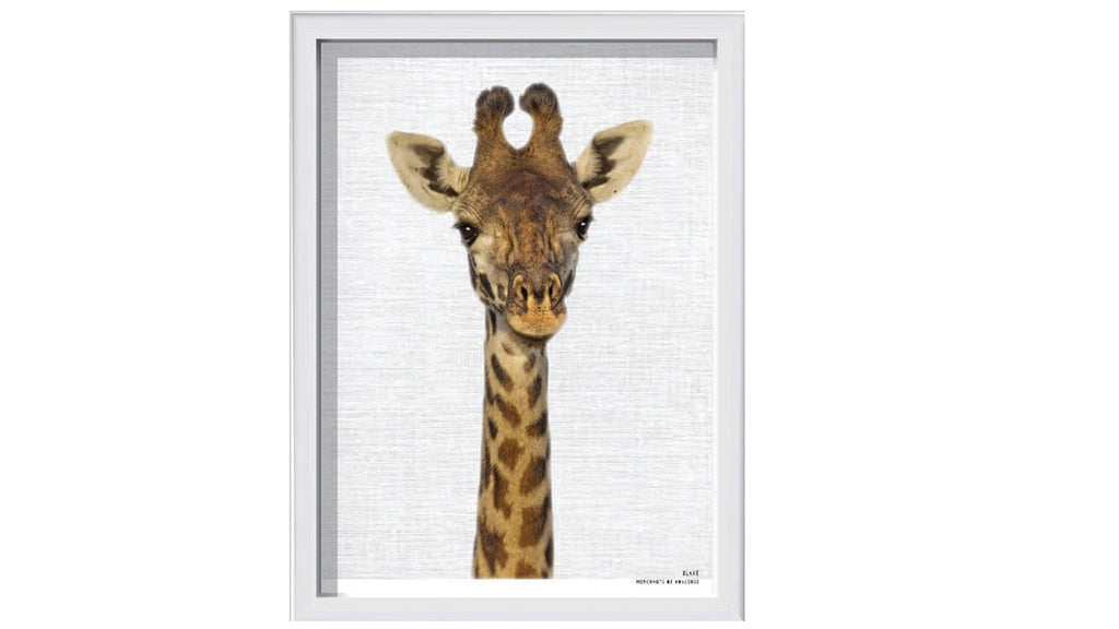 Blake – Giraffe Framed Animal Print