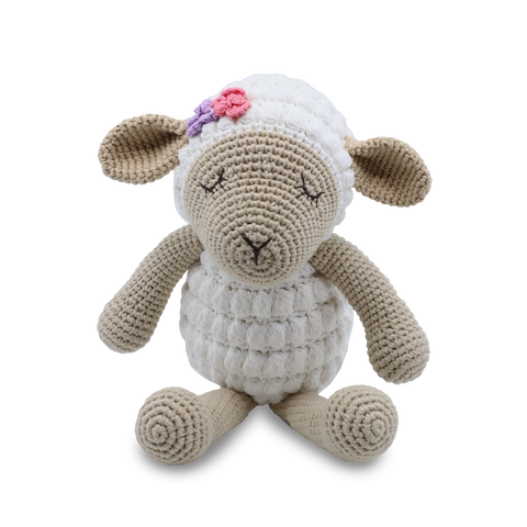Handmade Large Lamb - Soft toy