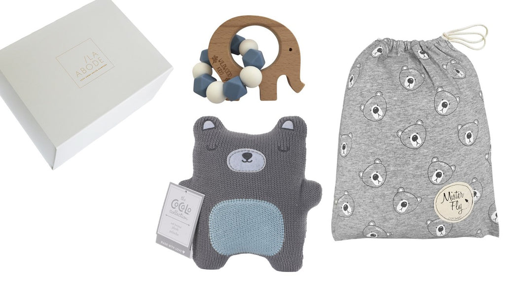 Teddy Gift Set - With Cot Sheets