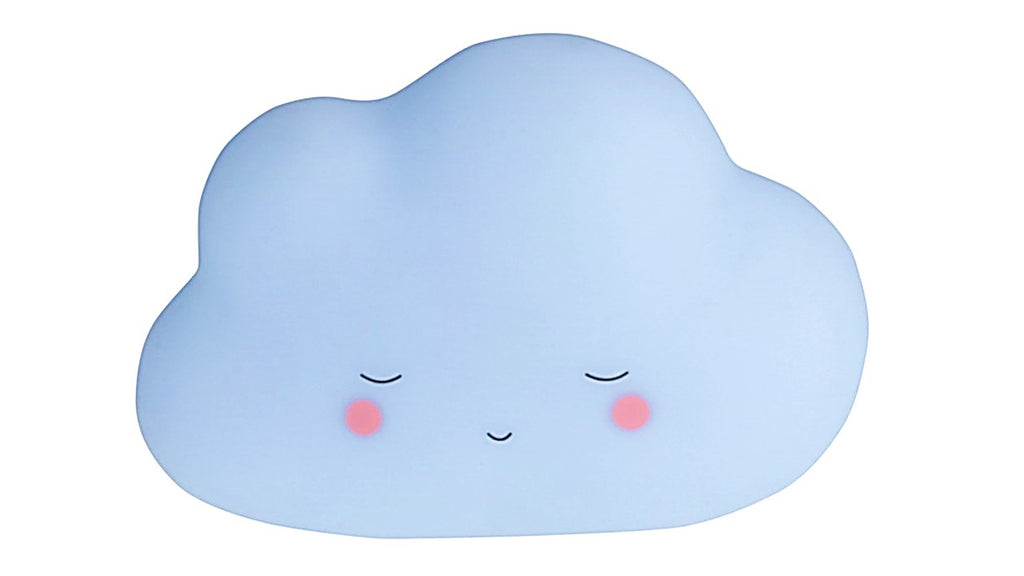 Little Dreams Cloud Night Light - Baby Blue