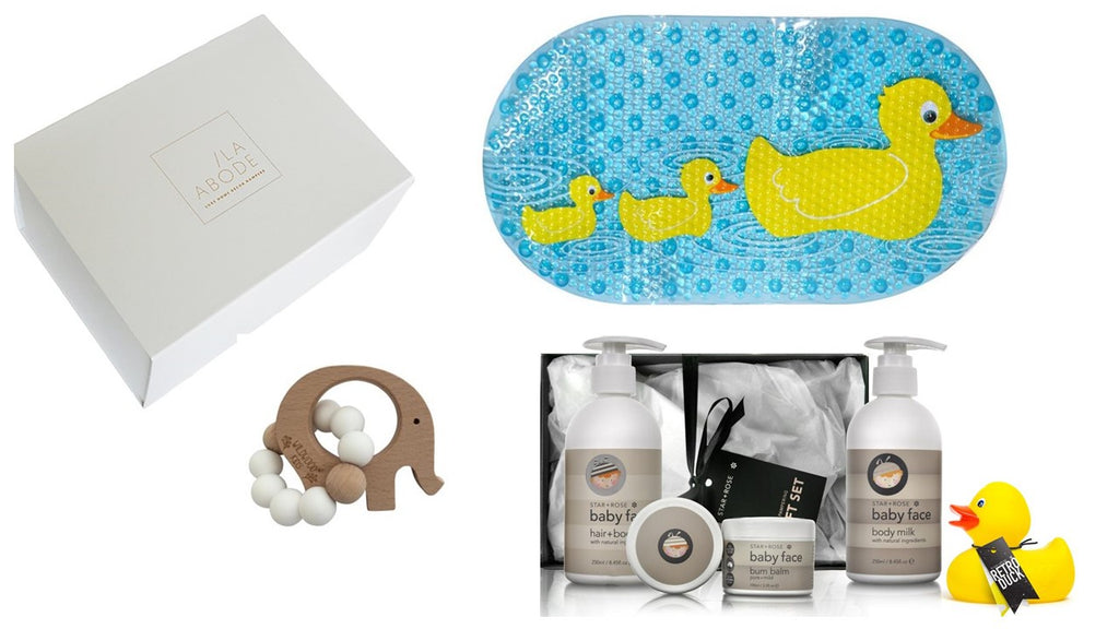 Bathing Baby Gift Set