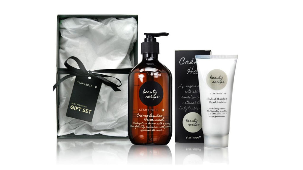 Beauty Recipe Hand Gift Box - Creme Brulee