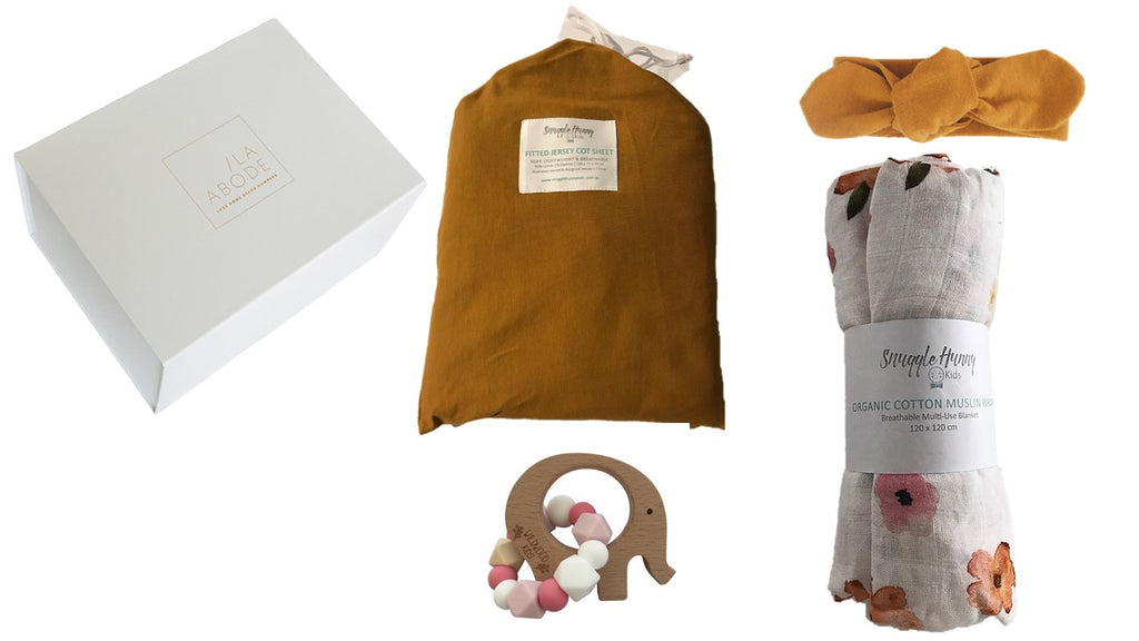 Poppy Organic Gift Set - with cot sheets