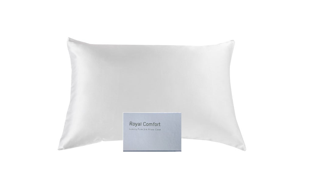Mulberry Silk Twin Set Pillowcase - White
