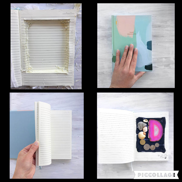 DIY Secret Book Compartments