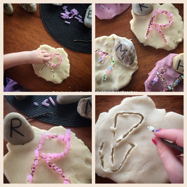 Letter Recognition Through Play…Dough!