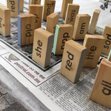 Pre order (made to order) Sight Word Blocks