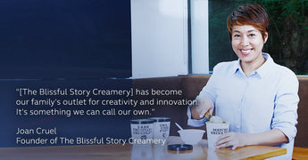"""How Joan Cruel Put Her Mom Skills to Good Use at The Blissful Story Creamery"""