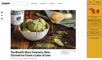 """The Blissful Story Creamery: Slow-Churned Ice Cream a Labor of Love"""
