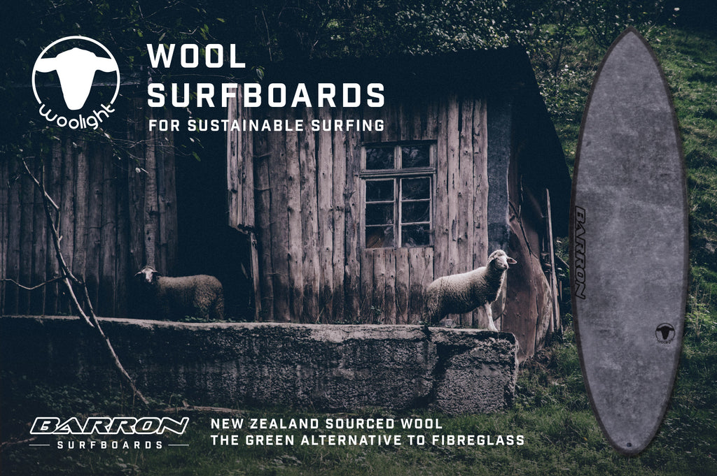 Woolight Surfboards Available Now