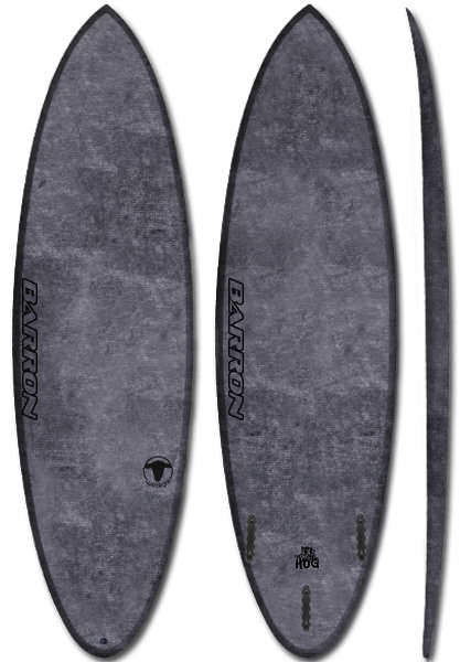 Barron Hog Woolight Charcoal - Barron Surfboards