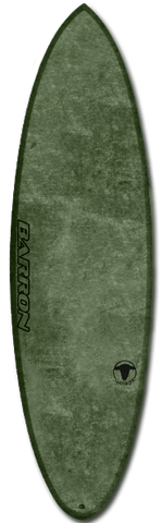 Barron Hog Woolight Olive - Barron Surfboards