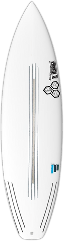 CI Black & White FlexBar Surfboard - Barron Surfboards
