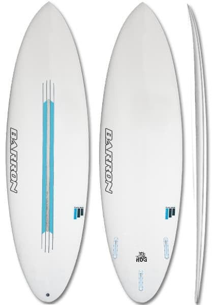 Barron Hog FlexBar Surfboard - Barron Surfboards