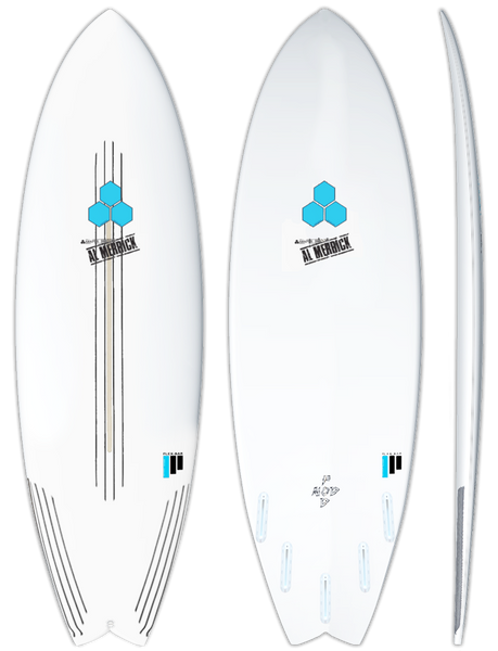 CI Pod Mod FlexBar Surfboard - Barron Surfboards