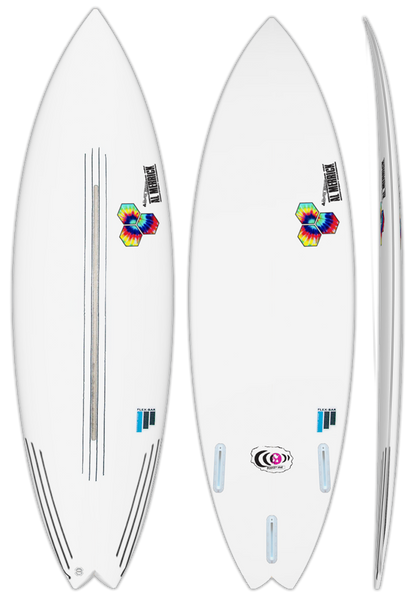 CI Rocket 9 FlexBar Surfboard - Barron Surfboards