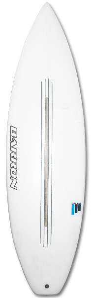 Barron Spartacus FlexBar Surfboard - Barron Surfboards
