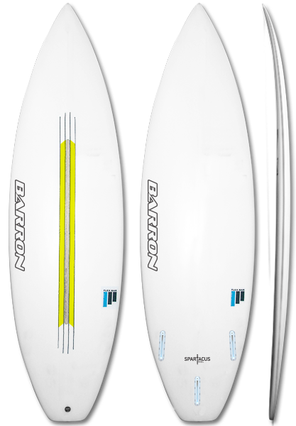 Barron Spartacus FlexBar - Barron Surfboards