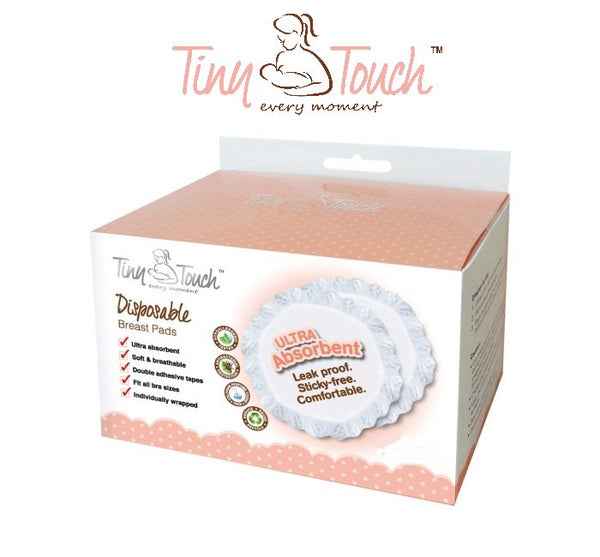 Tiny Touch Disposable Breast Pads 60pcs