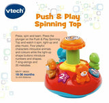 Push & Play Spinning Top