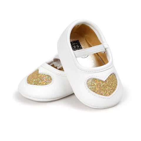 Heart Ballet Pumps